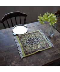 Afghanistan vintage | mini rug melon 30.5×28cm