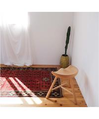 Afghanistan vintage | rug baluch camel 190 × 104cm