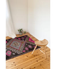 Lily vintage | rug Turkish pink 190 × 113cm