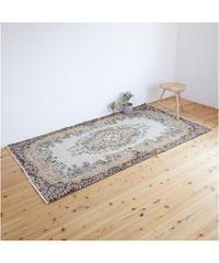 Lily vintage | rug Turkish orange 219 × 127cm