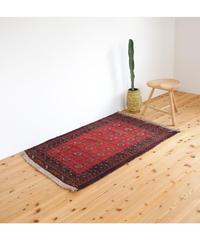 Afghanistan vintage   rug baluch dark red 127 × 90cm