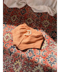 BY BILLIE |  FRENCH TERRY SHORTS - RUST