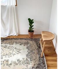 vintage rug   rug orange 219 × 115.5cm