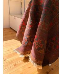 vintage rug | rug Afghan floor 133.5 × 182cm