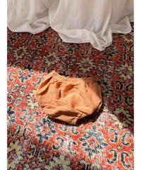 BY BILLIE |  FRENCH TERRY BLOOMERS - RUST