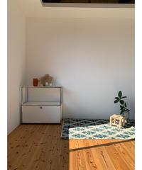 Lily vintage | rug leaves 202 × 104cm