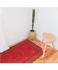 Afghanistan vintage | rug baluch red 130 × 74cm