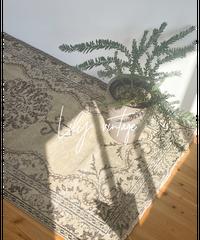 Lily vintage | rug celadon 203 × 110cm
