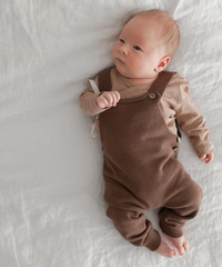 KINDLY |  baby knit overalls