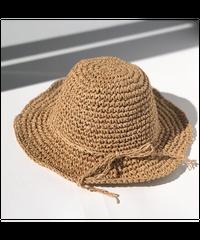 fini. | straw hat - natural