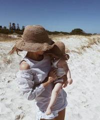 fini. | straw hat - natural  Ladies size