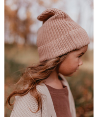 KINDLY |  kids chunky knit beanie