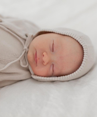 KINDLY   baby knit bonnet