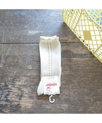 Cóndor | side openwork perle knee high (1-3歳 size)