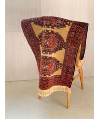 vintage rug | siderug baluch beige 96 × 57cm