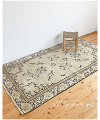 Lily vintage | rug pistàcchio 209 × 114cm