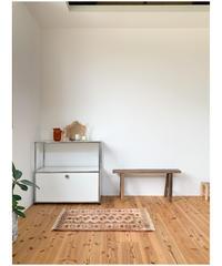 vintage rug   rug coral pink 86.5 × 58cm