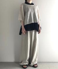 suzuki takayuki / knitted T-shirt