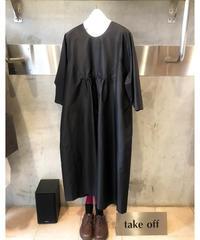 silk tafta one-piece(シルクタフタワンピース)~再入荷