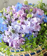 熊谷珠樹の「「花の宅配レッスン」 ご自宅おひとりさまレッスン クリエイティブコース