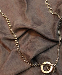 L. TWO AFFECTIONS  NECKLACE