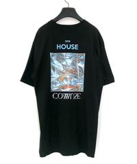 【  2019.5.25.21:00-販売開始  】HOUSE COMMUSE TEE【BLK】