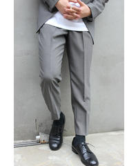 MINIMAL TAPERED PANTS【GRY】