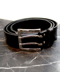 LEATHER W-PIN BELT