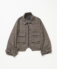 Docking Over Layered Blouson(Check)