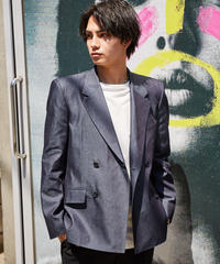 90's BOXY TAILORED JACKET【GRY】