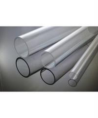 ポリカーボネイト透明パイプ(外径76mm×内径70mm×1M:薄肉タイプ)
