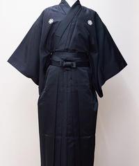 染テトロン紬 おつとめ衣(男性用)