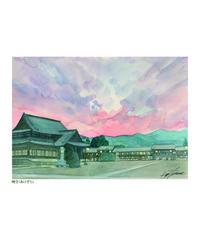 『おぢばの風景』イラスト西村勝利 ポストカード13枚セット