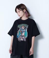 【SOLOMON×GRANBLUE FANTASY×EROSTIKA】ベアトリクス T-Shirts(BLK)