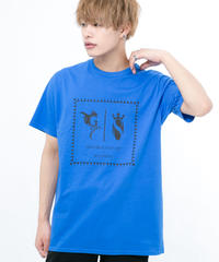 GRANBLUE FANTASY×SOLOMON Collaboration Logo T-Shirts(BLUE)