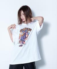 【SOLOMON×GRANBLUE FANTASY×EROSTIKA】ユエル T-Shirts(WHT)