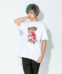 【SOLOMON×GRANBLUE FANTASY×EROSTIKA】ゼタ T-Shirts(WHT)