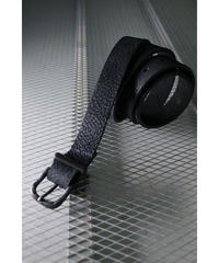 Thee OLD CIRCUS / 833 / ワイルドミンクレザー27mm バックル 10ホールベルト / OLD BLACK
