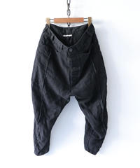 Vital / VT-2002 / Cropped Pants / BLACK