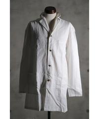 Thee OLD CIRCUS / 8136 / リネン ロングショップシャツ / WHITE