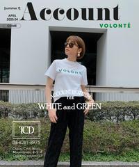 VOLONTEフロックTシャツ[20113017]