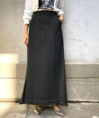 デニムサイドスリットスカート 66602
