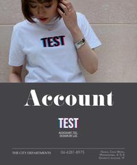 ネオン3DTEST Tシャツ[20112017]