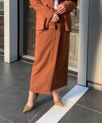 ラップロングタイトスカート(セットアップ可能)
