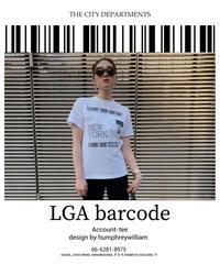 LGA BARCODE TEE