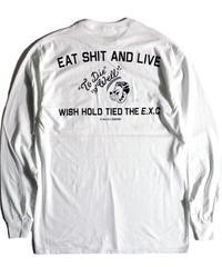 【ESAL】ロンT/ホワイト #EXC-LT10