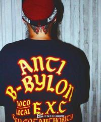 【ANTI】ロンT/ブラック #EXC-LT11