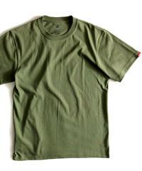 【PRE】無地Tシャツ/オリーブ #EXC-TS22