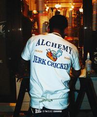 【ALCHEMY JERK CHICKEN】ヘンリーネック/オフホワイト #EXC-TS16