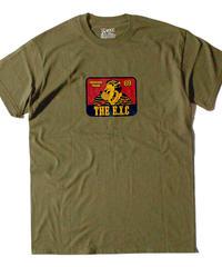 【CLASSIC】Tシャツ/カーキ #EXC-TS14